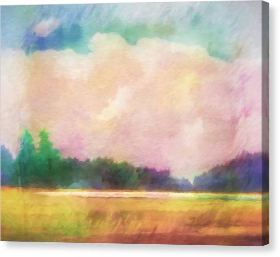 Colorplay Canvas Print - Evening Colorplay by Lutz Baar