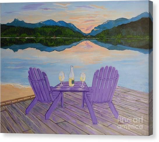 Evening Delight Canvas Print