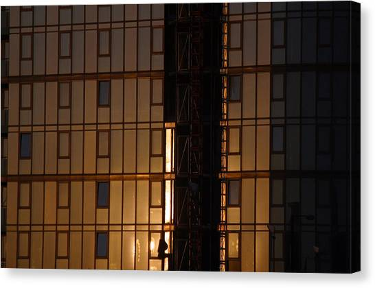 Evening Glass Canvas Print by Jez C Self