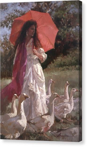 Evening Interlude Canvas Print