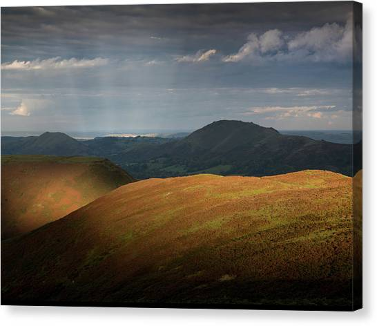 Evening Light Canvas Print by Richard Greswell