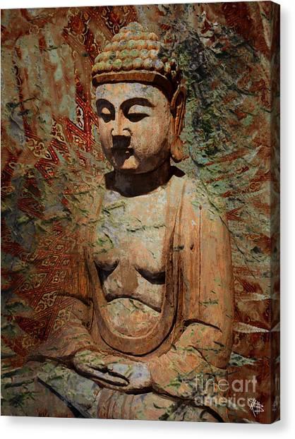 Evening Meditation Canvas Print