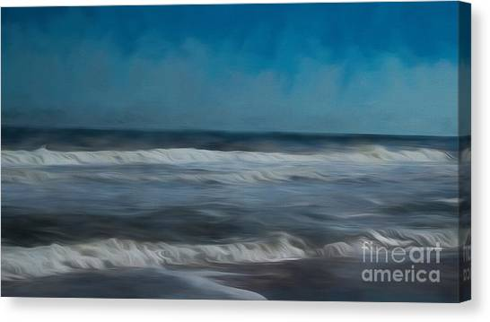 Daytona 500 Canvas Print - Evening On The Atlantic by Luther Fine Art