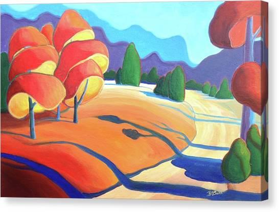 Evening Path Canvas Print