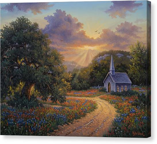 Evening Praise Canvas Print