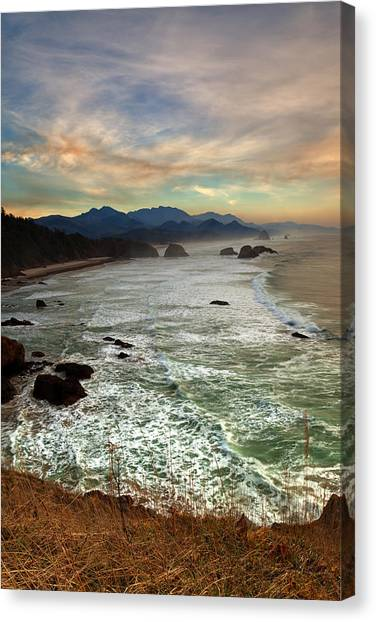 Evening Slumber Canvas Print