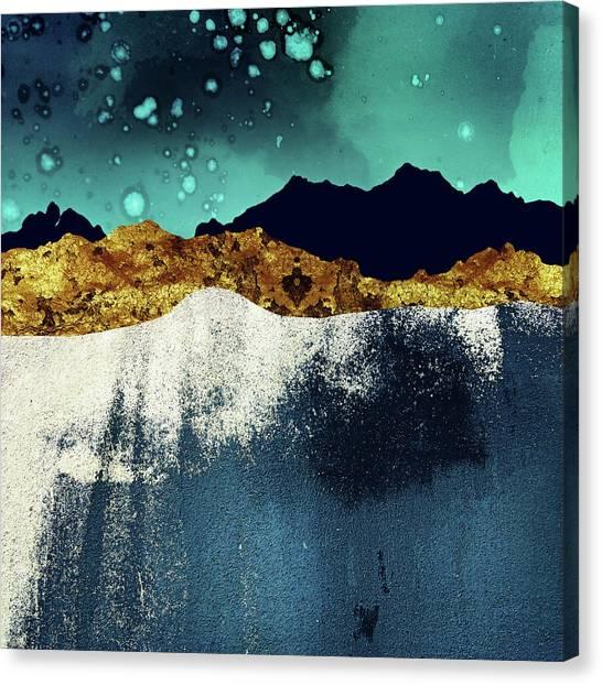Landscape Canvas Print - Evening Stars by Katherine Smit
