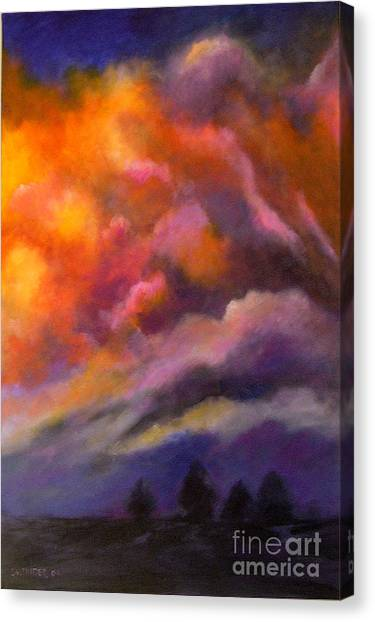 Evening Symphony Canvas Print
