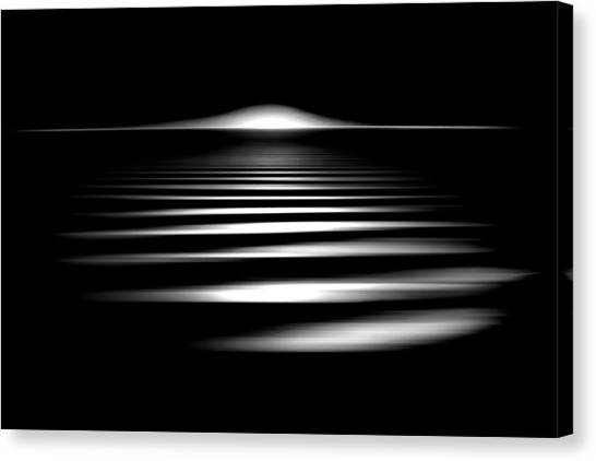 Fluids Canvas Print - Event Horizon by Az Jackson