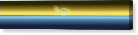 Sunset Horizon Canvas Print - Eventide 3 by Tim Allen