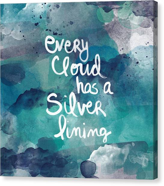 Clouds Canvas Print - Every Cloud by Linda Woods