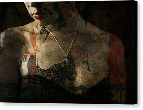 Tattoo Canvas Print - Every Picture Tells A Story by Paul Lovering