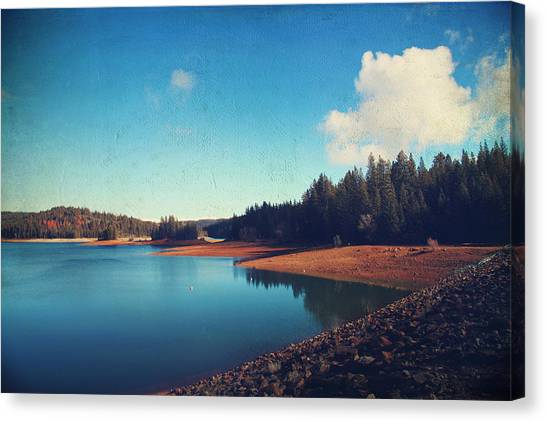 Sly Canvas Print - Every Time I Think Of You by Laurie Search