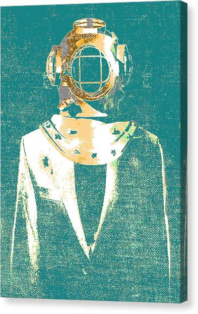 Everyday Diver Canvas Print