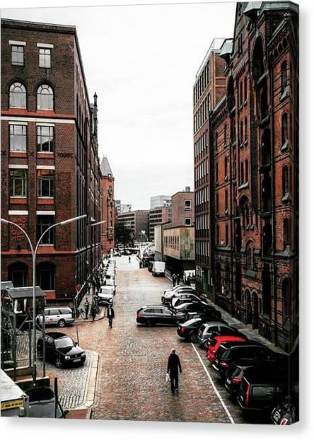 Germany Canvas Print - Everyday Life In Hamburg.🚶 by Patrik Duda