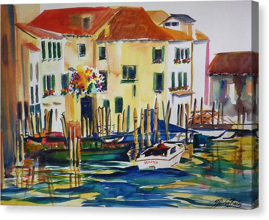 Everything Venice Canvas Print by Therese Fowler-Bailey