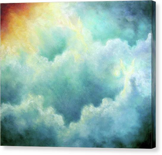 Evidence Of Angels Canvas Print