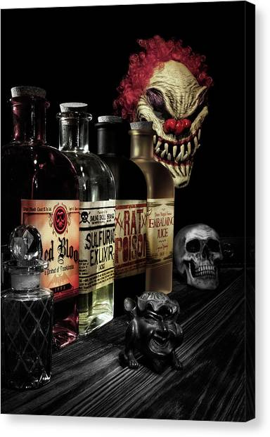 Fluids Canvas Print - Evil Alchemy by Tom Mc Nemar