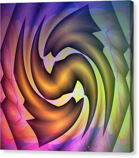 Evolution Canvas Print by Visual Artist Frank Bonilla