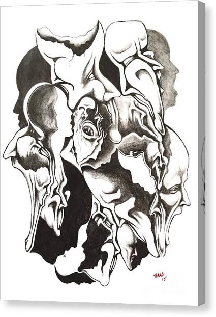 Evolution In Mind  Canvas Print