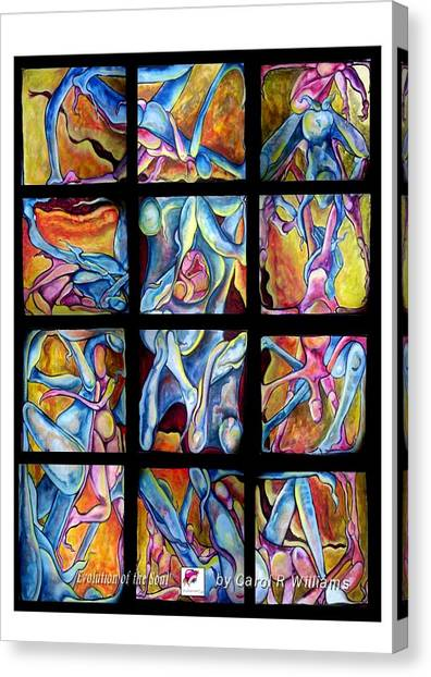 Evolution Of The Soul Canvas Print