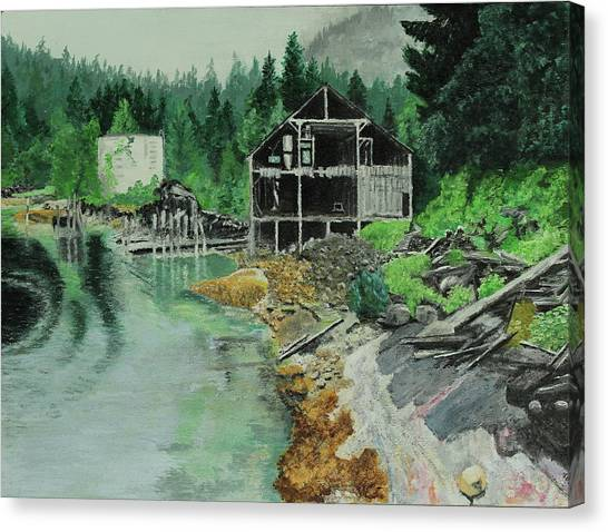 Ex-cannery Canvas Print