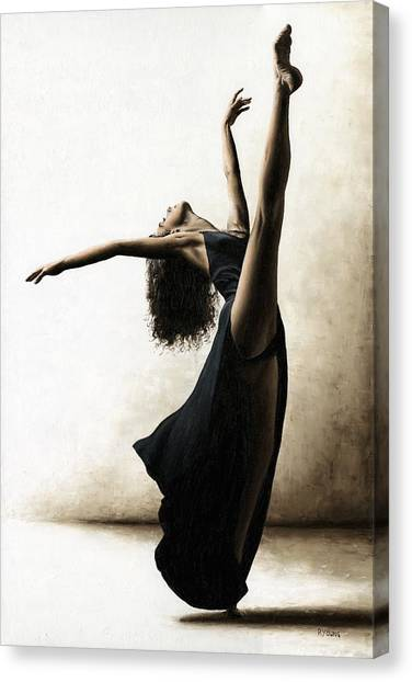 Ballet Canvas Print - Exclusivity by Richard Young