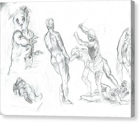 Exercise Canvas Print by Joseph  Arico