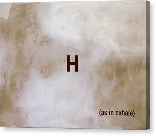 Exhale Canvas Print by Andrew Crane