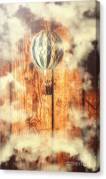 Hot Air Balloons Canvas Print - Exhibit In Adventure by Jorgo Photography - Wall Art Gallery