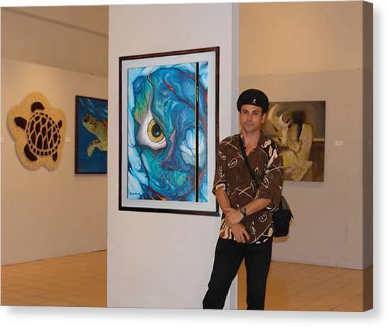 Exhibition Cancun  Canvas Print