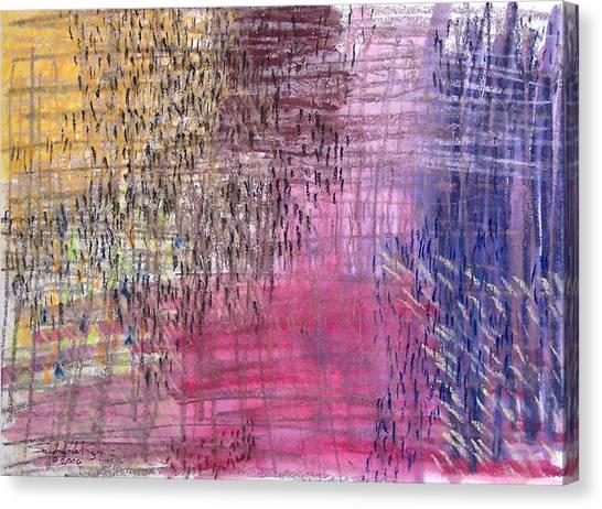 Exodus Canvas Print by Saundra Lee York