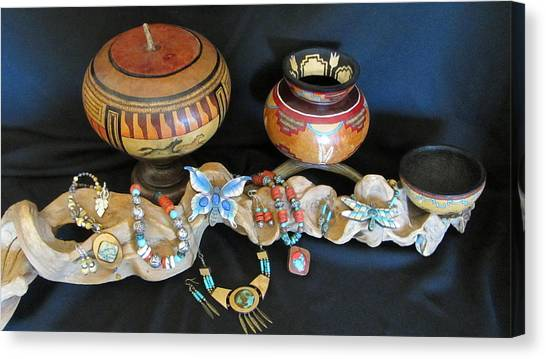 Exotic Gourds Canvas Print