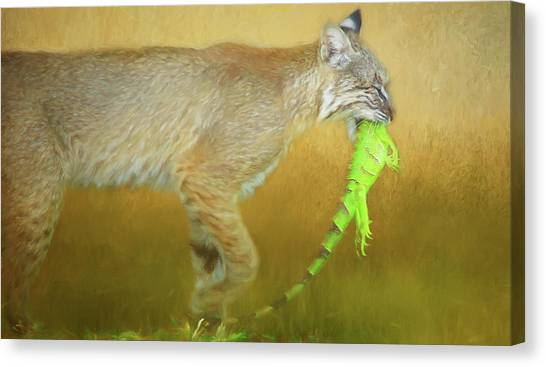 Exotic Lunch. Canvas Print