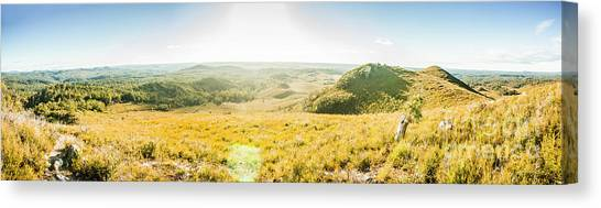 Moorland Canvas Print - Expansive Open Plains by Jorgo Photography - Wall Art Gallery