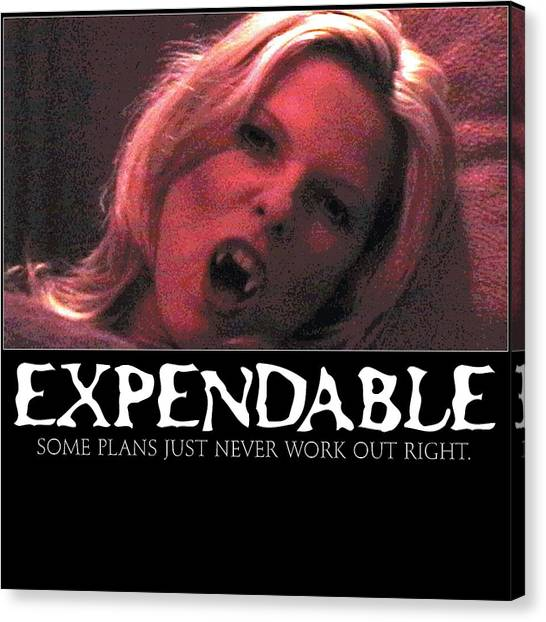 Expendable 1 Canvas Print