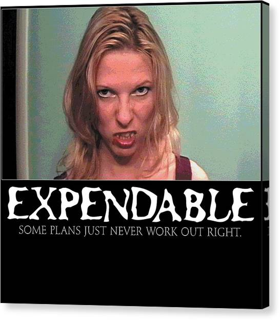 Expendable 10 Canvas Print