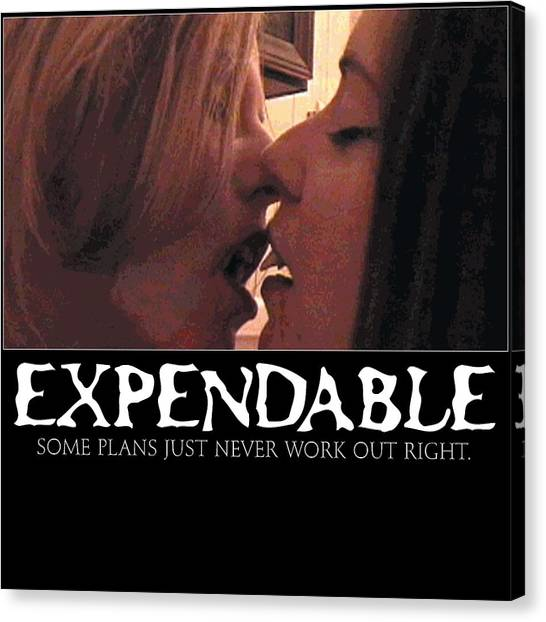 Expendable 11 Canvas Print