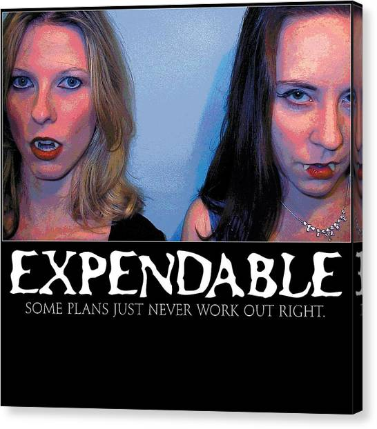 Expendable 15 Canvas Print