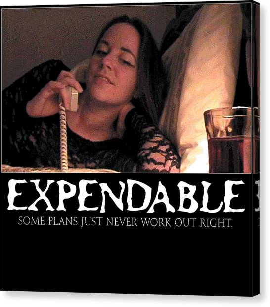 Expendable 5 Canvas Print