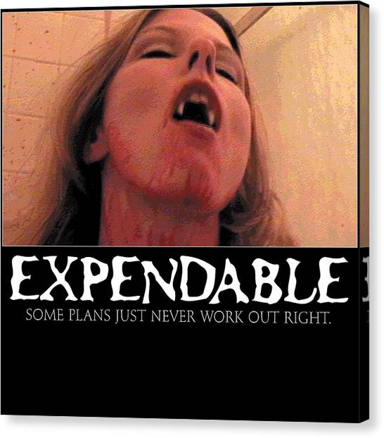 Expendable 8 Canvas Print