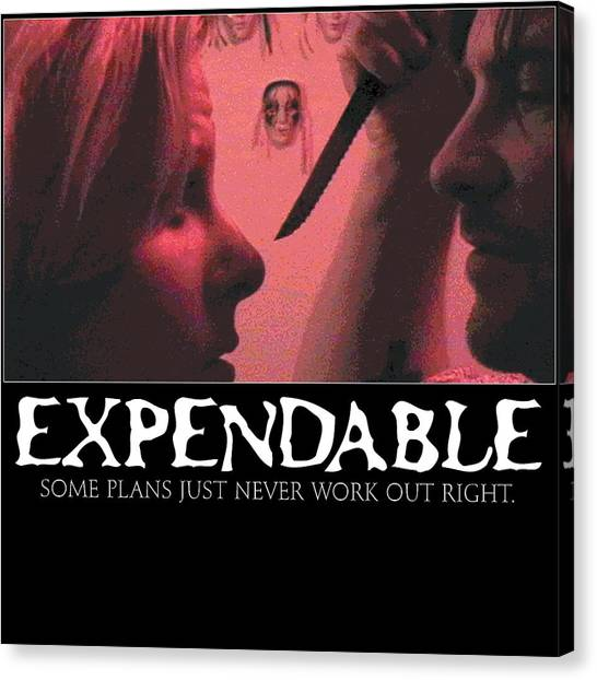 Expendable 9 Canvas Print