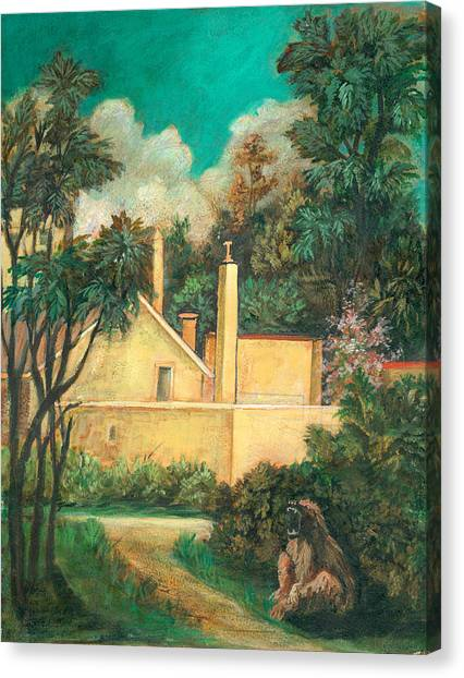 Experimental Station Canvas Print by Ethel Vrana