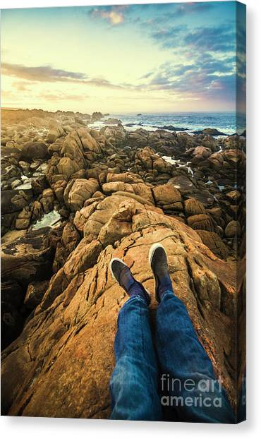 Harbour Canvas Print - Exploring The Beaches Of Western Tasmania by Jorgo Photography - Wall Art Gallery