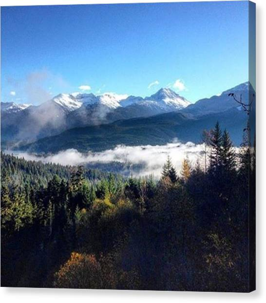 Big Sky Canvas Print - Exploring The Mountains by Outdoor Explorers