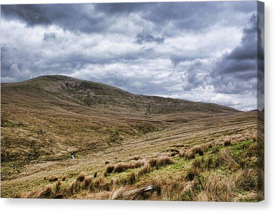Exploring The Sperrin Mountains Canvas Print