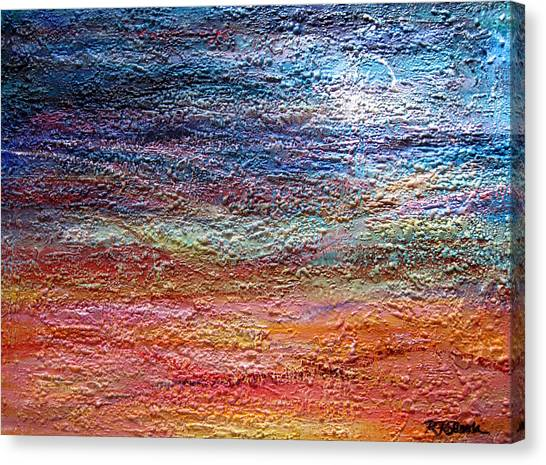 Exploring The Surface Canvas Print