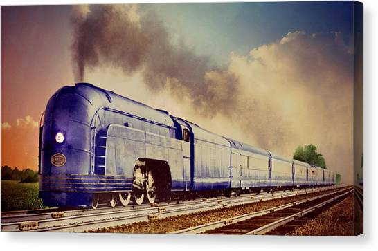 Canvas Print - Express by Steven Agius