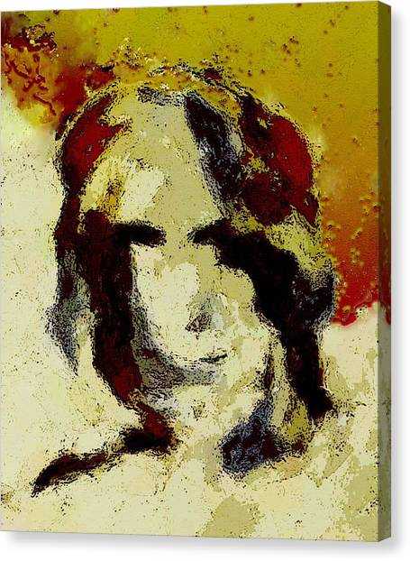 Expression Canvas Print by LeeAnn Alexander