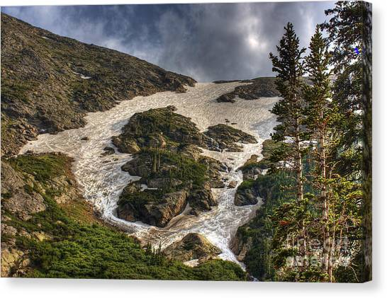 Extreme Trail Canvas Print by Pete Hellmann